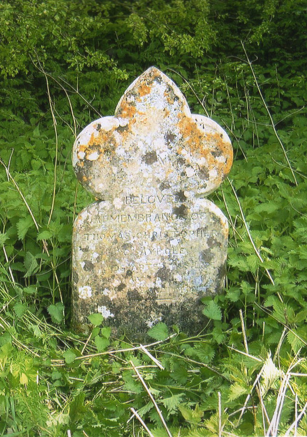 Claypole headstone