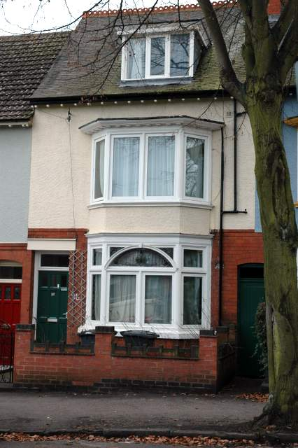 The home of the Naylors: 96 Westcotes Drive, Leicester