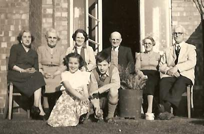 The family at Westover Road, Braunstone