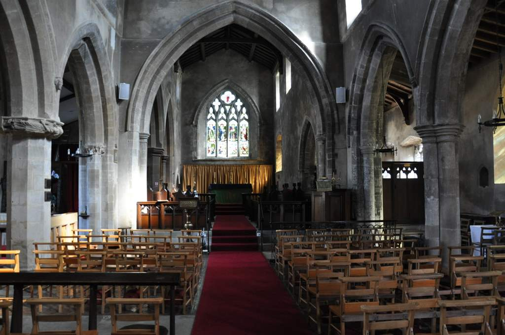 St Mary Magdalene, Cottingham, interior view
