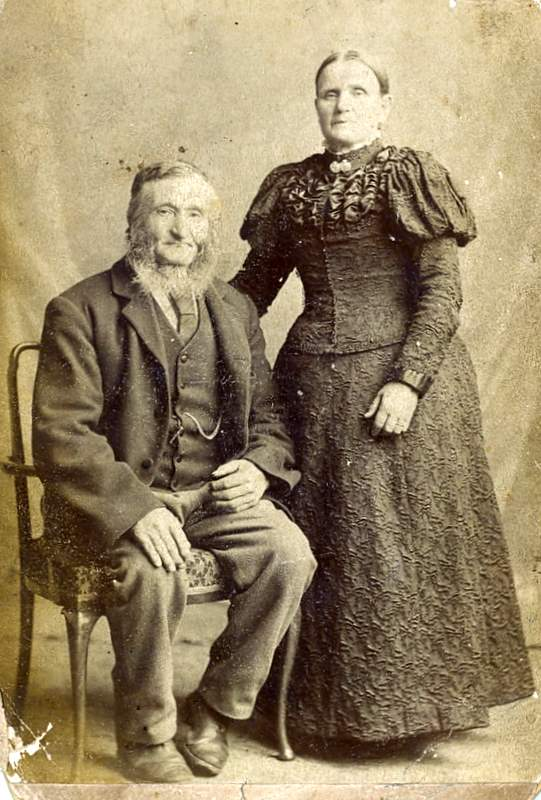 John Jackson and Elizabeth Tansley: married in 1859