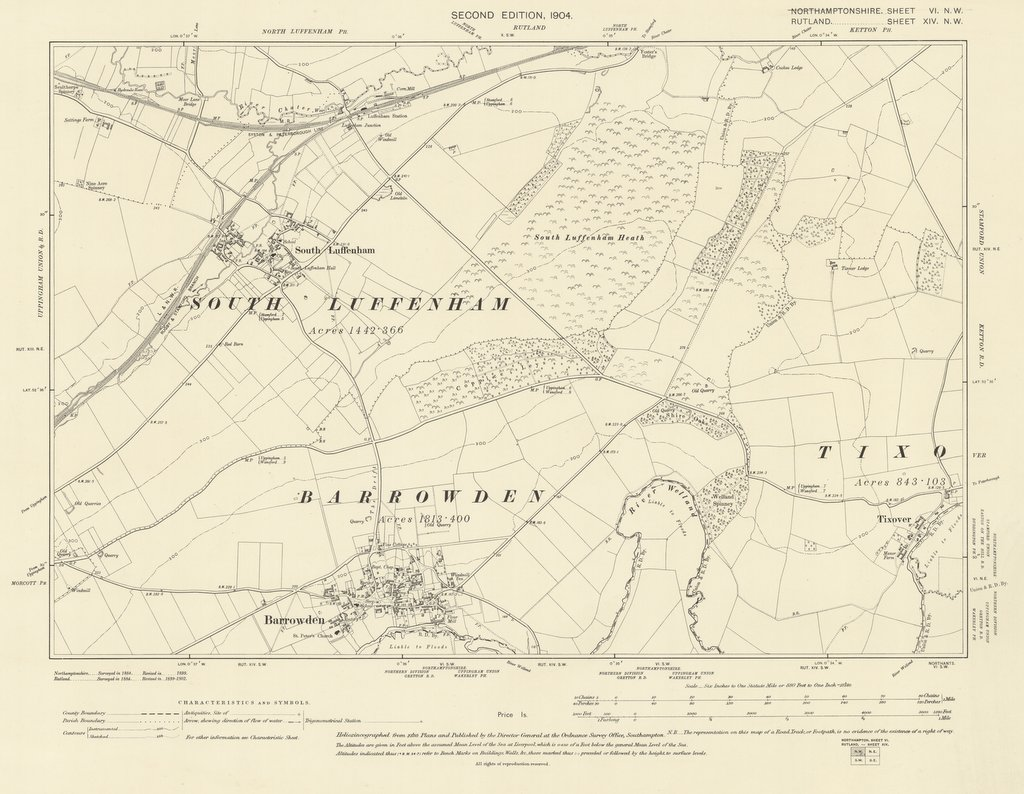 Environs of Barrowden