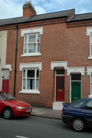 The Cook residence: 103 Bosworth Street, Leicester