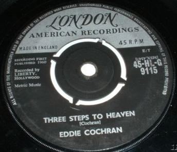 Eddie Cochrane: Three Steps To Heaven single