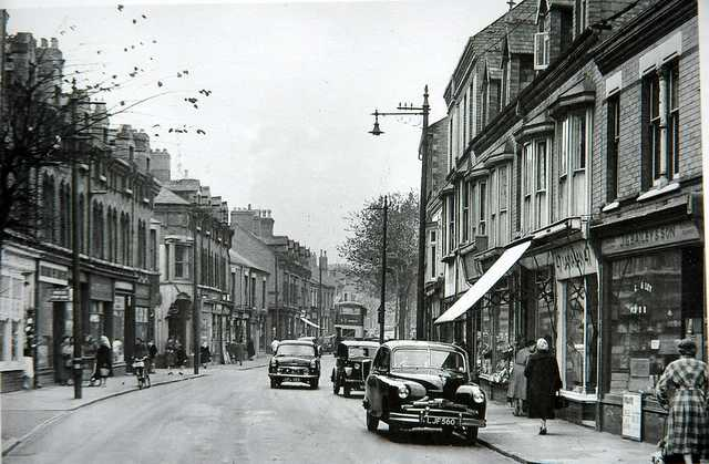 King Richards Road 1956