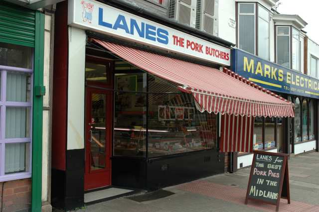 Lanes, the pork butchers