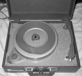 A 1960s record player