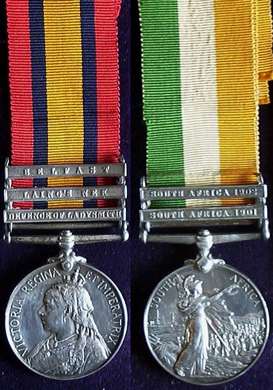 South Africa (Boer War) Medals
