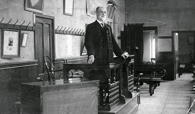 Walter Cook at Hinckley Road Methodist Chapel, Leicester