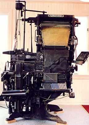 Linotype printer: Access the article