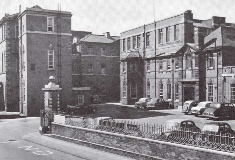 Main Entrance, Leicester Royal Infirmary mid 1960s