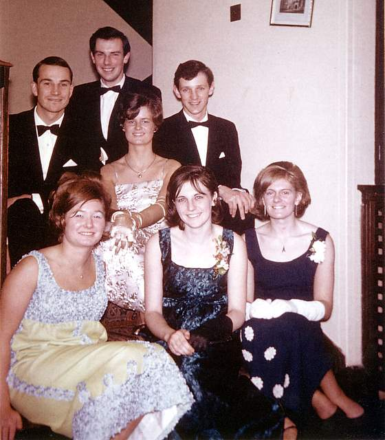 Waiting for the Bute Ball 1966
