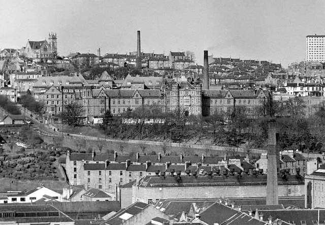 Dundee Royal Infirmary about 1970