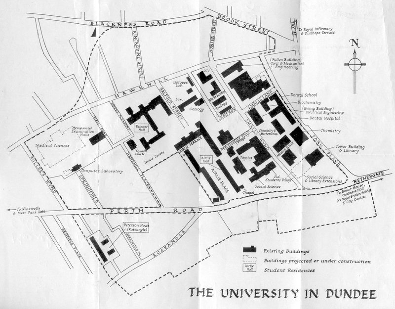 The University in Dundee