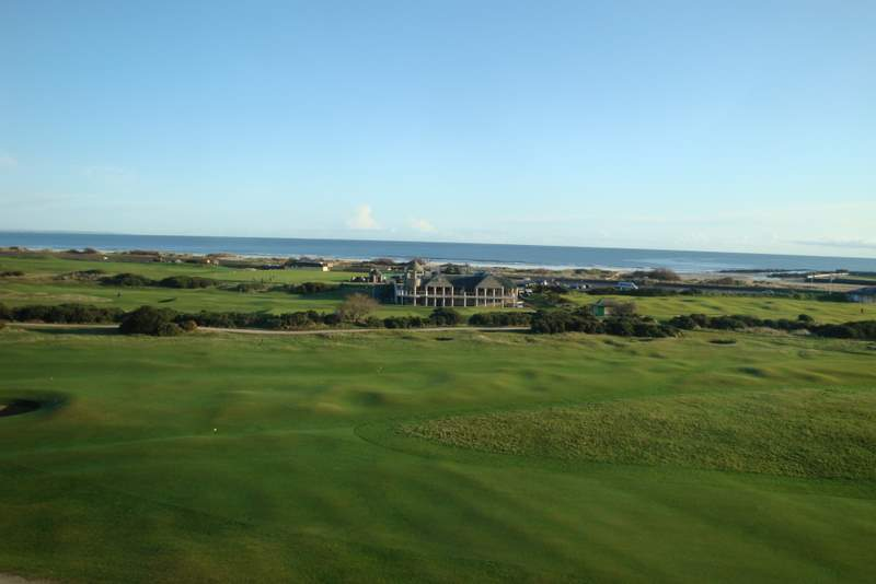 The Old Course looking east