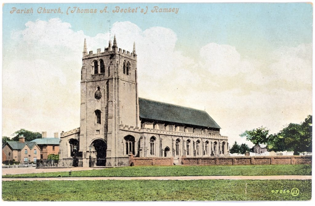 St Thomas A Becket Parish Church, Ramsey, Cambridgeshire;