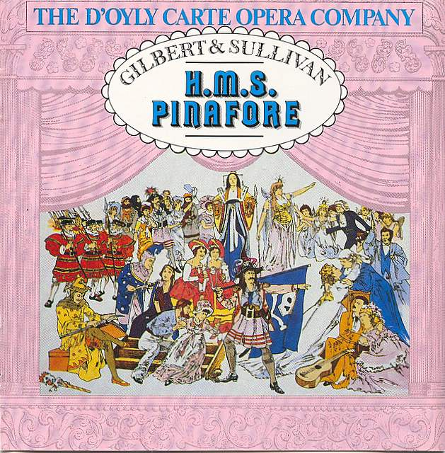 HMS Pinafore CD: Access the review