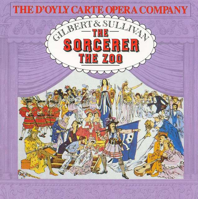 D'Oyly Carte CD cover: to Page 4