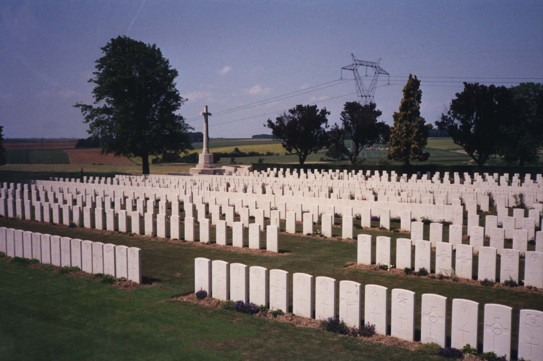 Varennes Military Cemetery, France