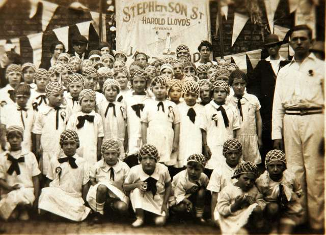 The Stephenson Street 'Harold Lloyd' Juvenile Jazz Band - Girls