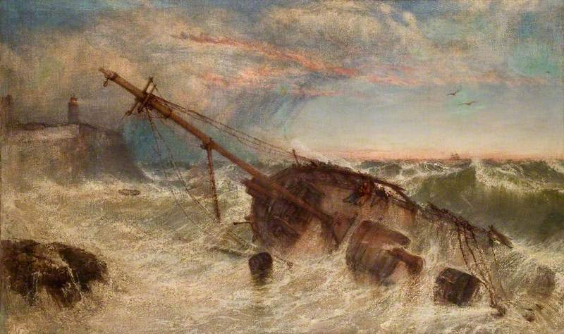 Shipwreck on the Tyne