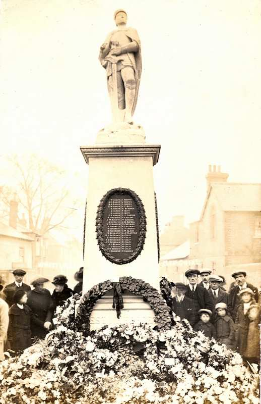 Whittlesey War Memorial: Access the story of Percival Anker
