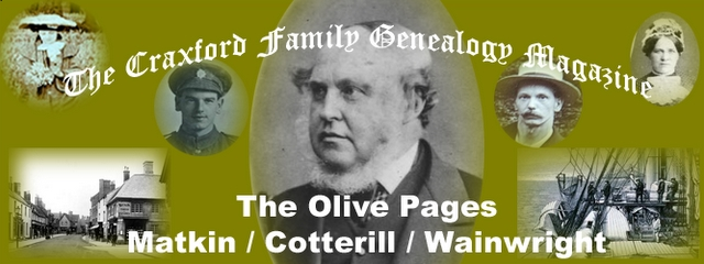 The Craxford Family Magazine Olive Pages