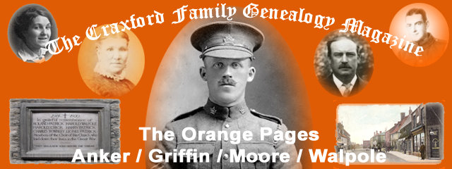 The Craxford Family Magazine Orange Pages