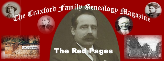 The Craxford Family Magazine Red Pages